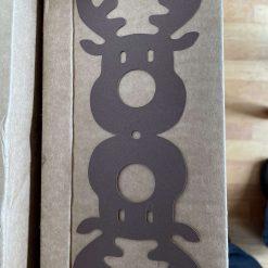 Reindeer sweet holder