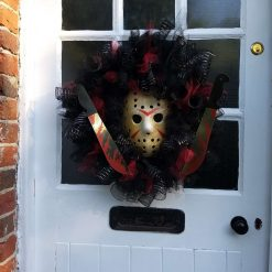 Haloween wreath Jason 13