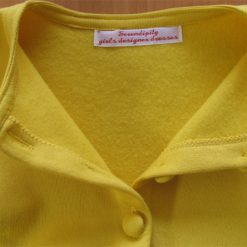 Lucy Dress, Yellow Peplum by SerendipityGDDs for Age 7 3