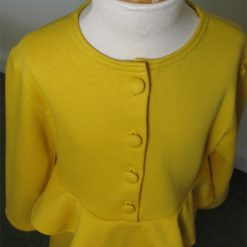 Lucy Dress, Yellow Peplum by SerendipityGDDs for Age 7 4