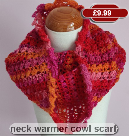 Neck Warmer Cowl / Scarf by SerendiptyGDDs, Age 6 to 9