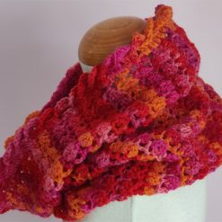 Neck Warmer Cowl / Scarf by SerendiptyGDDs, Age 6 to 9 3