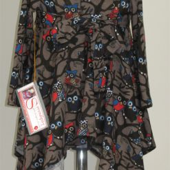 Night Owls dress by SerendipityGDDs for girls age 2 2