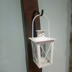 3ft Solid Oak Cream Tea Light Lantern