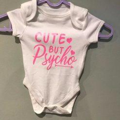 Baby Girl sleep suit - Cute by psycho