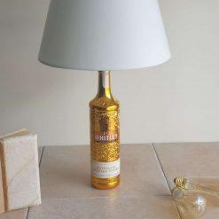 Bottle Lamp - J.J WHITLEY GOLD Russian Vodka