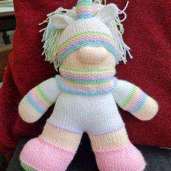 Knitted Unicorn/Gnome (Unignome)