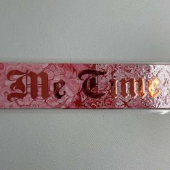 "Handmade pink ""Me Time"" bookmark"