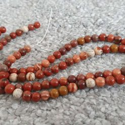 6mm Natural Red Jasper Beads Strands