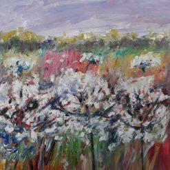Lynns Art-Cow parsley-Semi Abstract