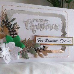 Large luxury Christmas card