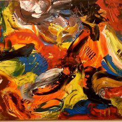 Abstract Art - Inferno 3