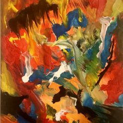 Abstract Art  - Inferno