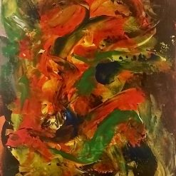 Abstract Art  - Burst of Colour 4