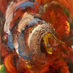 Abstract Art  - Wave Of Colour