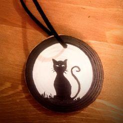 Handmade Halloween Decorations - Black Cat