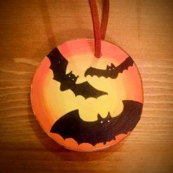 Handmade Halloween Decorations - Bats