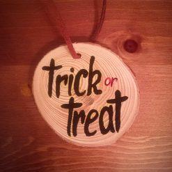Handmade Halloween Decorations - Trick or Treat