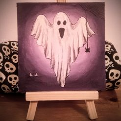Handmade Halloween Decorations - Spooky Ghost