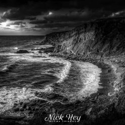 15x12 print titled ''Just before the Storm'' - Bude, Cornwall, UK.