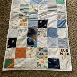 Memory blankets and cushion covers