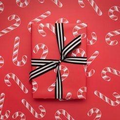 Candy Canes   Christmas Wrapping Paper