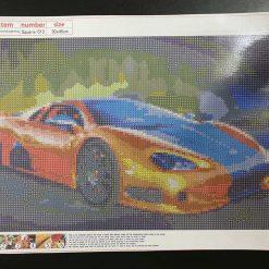 30 x 45 cm diamond art kit (sports car)