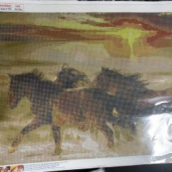 50 x 70 cm diamond art kit (horses)