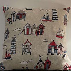 Beach hut cushion