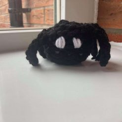 Small handmade knitted spider