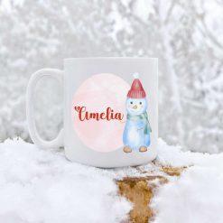 Christmas Girl Mugs