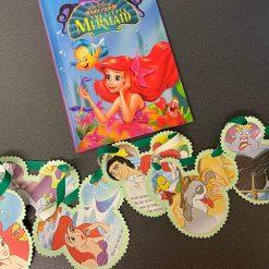 Disney Bunting - little mermaid