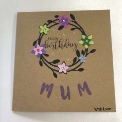 handmade personalised happy birthday card