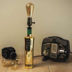 Bottle Lamp - AU GOLD- WATERMELLON/BLUE RASPBERRY/ BLACK GRAPE -70CL -TABLE LAMP
