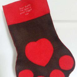 Personalised Animal Christmas stockings