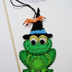 HALLOWEEN FROG ON A STICK