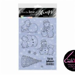 Hunkydory - Festive Wonderful Waterfall - Building A Snowman - A6 Stamp Set