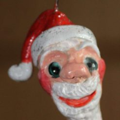 A Hanging Santa Claus