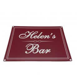 A Personalised Laser Engraved Bar Sign/House Sign