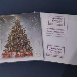 Advent Calendar Cards - Baubles