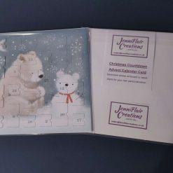 Advent Calendar Cards - Polar Bears