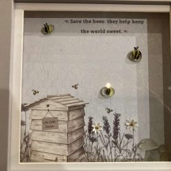 Pebble art, save the bees