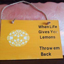 Lemons Plaque