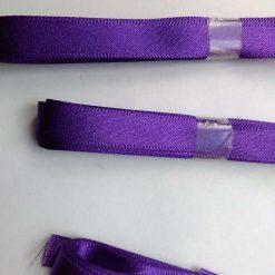 Berisfords 3m hank of 9mm purple satin ribbon free postage