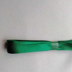 Berisfords 3m hank of 9mm green satin ribbon free postage