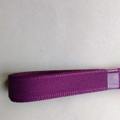 Berisfords 3m hank of 15mm purple grosgrain ribbon free postage