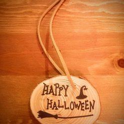 Handmade Halloween Decorations - Happy Halloween Sign