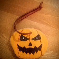 Handmade Halloween Decorations - Pumpkin