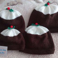 Christmas Pudding Hats