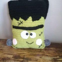 Crochet Frankenstein pillow  squishy